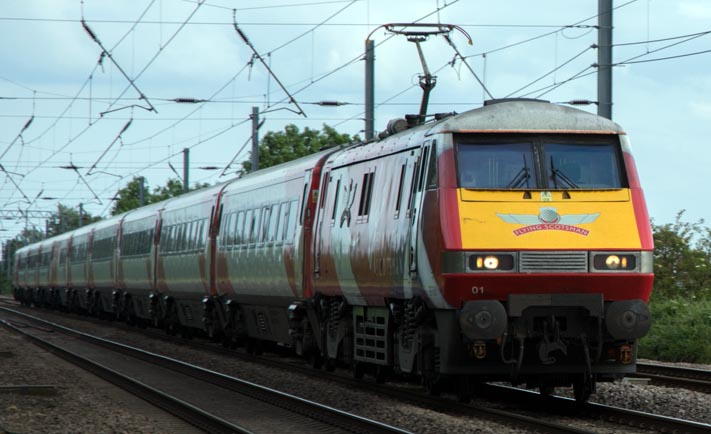 Virgin East Coast class 91101
