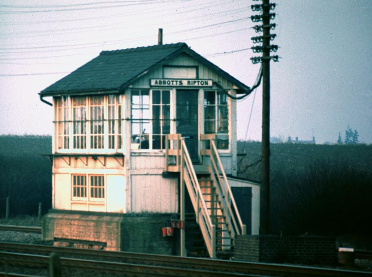Abbotts Ripton signal Box