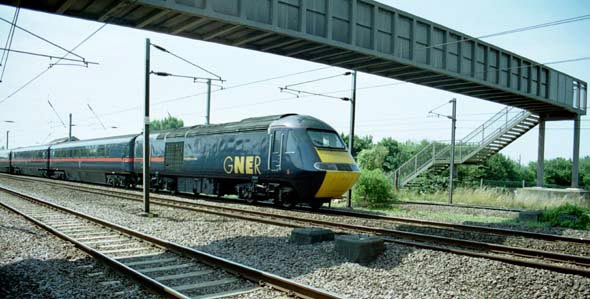 GNER HST at Arlesey in 2003