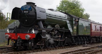 A3 Flying Scotsman at Barrow Hill