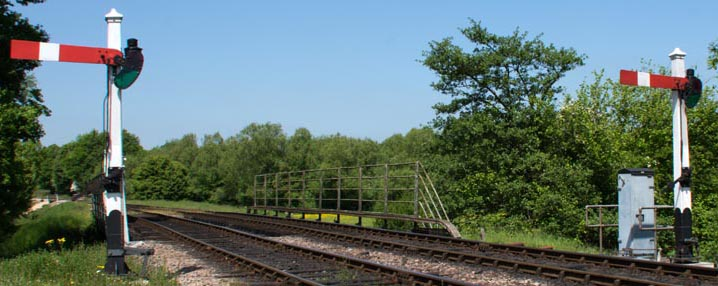 Two signals at Sheffield Park