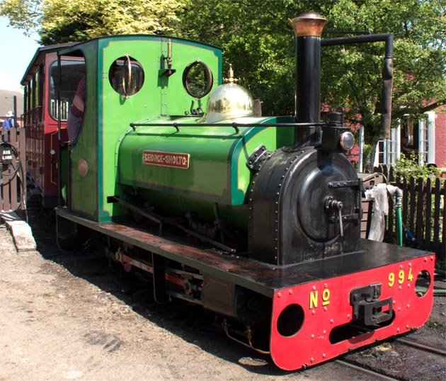 'George Sholto' No. 994 at Bressingham