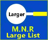 Large text  size list for MNR