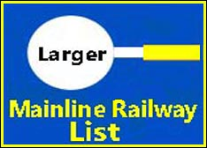 Large Page of Mainline Railways Railways on this site