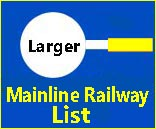 Large full page list on Mainline Railways