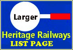 Full page of links to my Heritage Railways pages