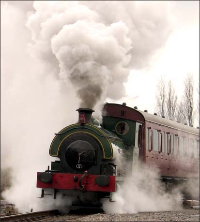 lots of steam at the Chasewater Railway in 2007