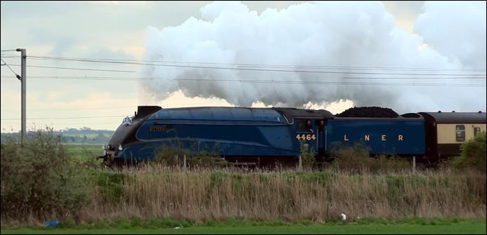 LNER A4 4464 Bittern  with The Great Britain V