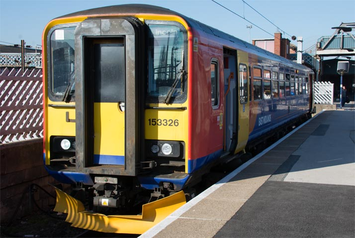 East Midland Trains Class 53326