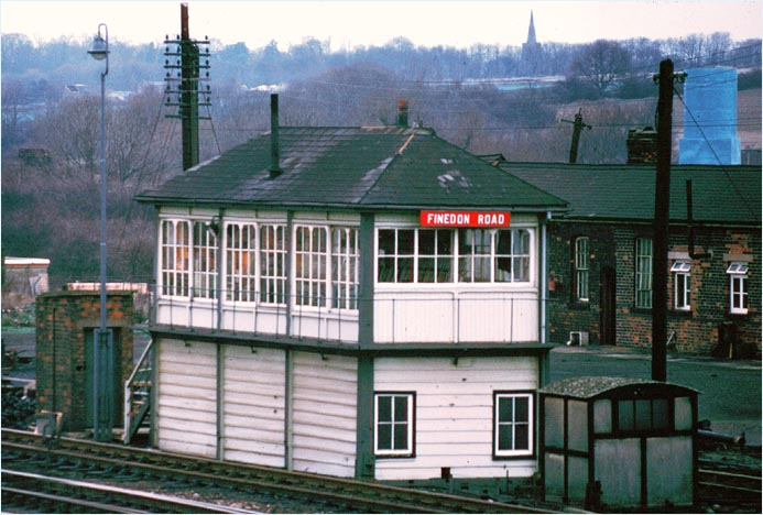 Finedon Road signal box