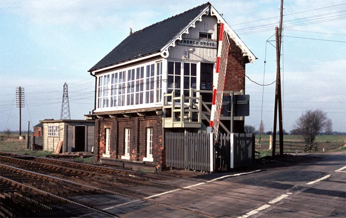 French Drove signal box