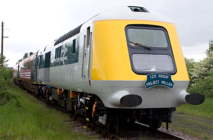 The prototype High speed train power car 41001