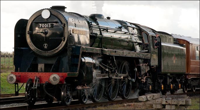 Oliver Cromwell at Quorn and Woodhouse in 2012