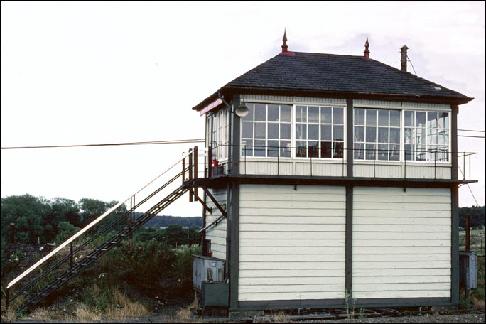 Glendon North Junction signal box