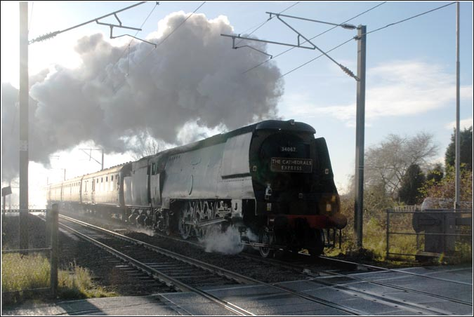 Tangmere at Holme crossing