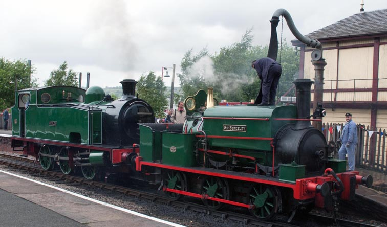 0-6-0T Sir Berkeley and 0-6-0T Nunlow