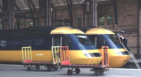 HSTs at Kings Cross