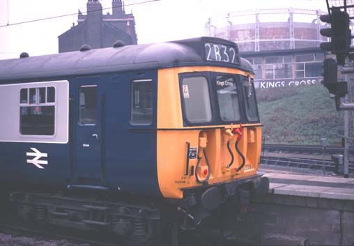 Head codes were still in use on the Class 312 EMU at Kings Cross