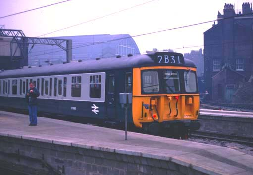 Class 312 EMU at Kings Cross