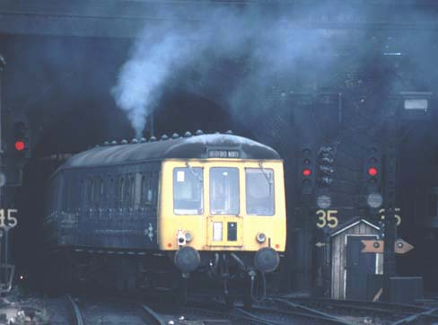 This DMU was going into the tunnels at Kings Cross  to make yet more fumes.