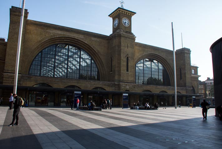 Kings Cross on Saturday 19th May 2018