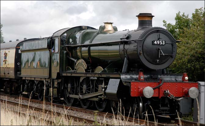 GWR 4953 Pitchford Hall at Langham 2009
