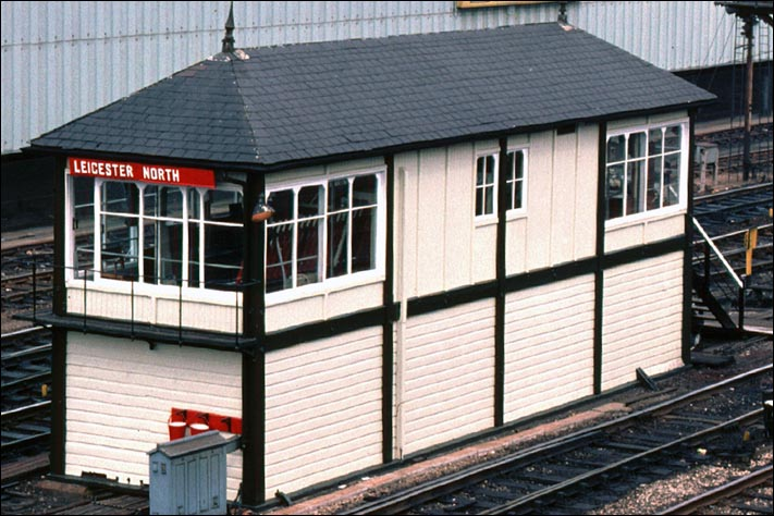 Leicester North signal box