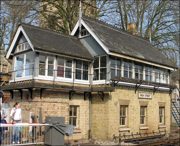 High Street signal box in 2005