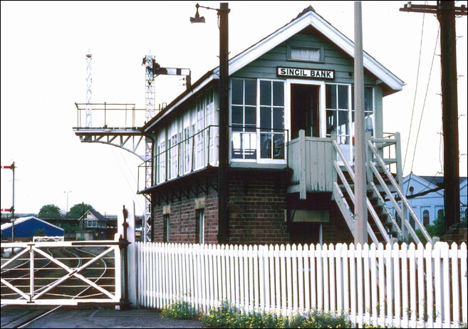 Sincil Bank signal box