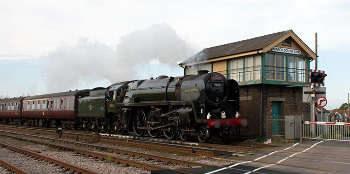 70013 Oliver Cromwell at March in 2014