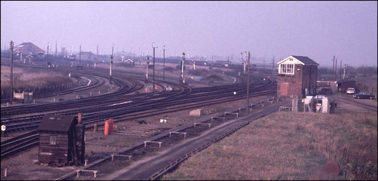 Whitemoor Marshalling Yard in early 1970s