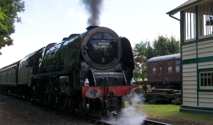 4-6-2 46233 Duchess of Sutherland