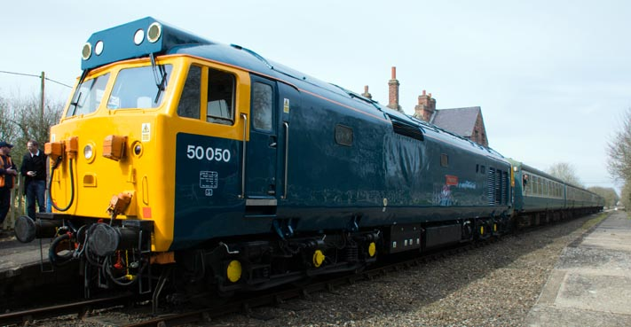 Class 50050 (D400 on other side)