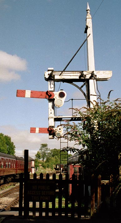 Signal at Butterley
