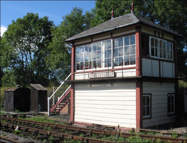Butterley CF signal box.