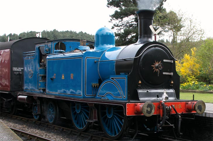 C.R 0-4-4T in Weyboure on Saturday 6th April 2019.