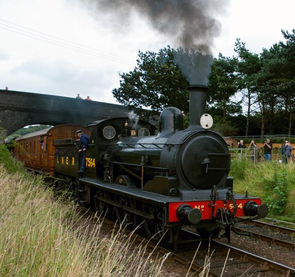 LNER J15 no.7564 at Weybourne