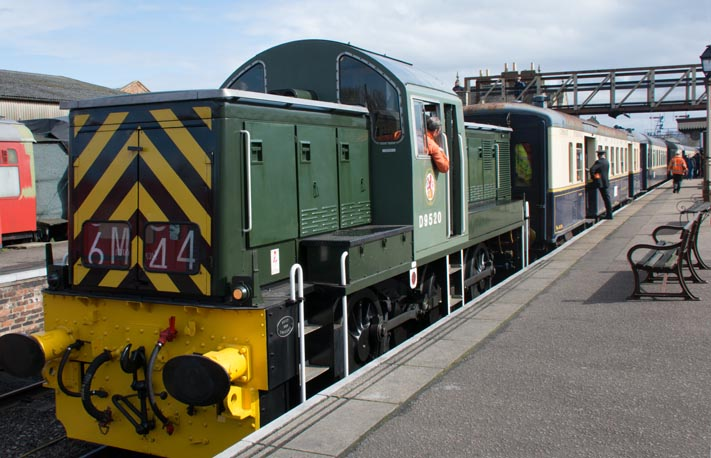 D9520 in Wansford station