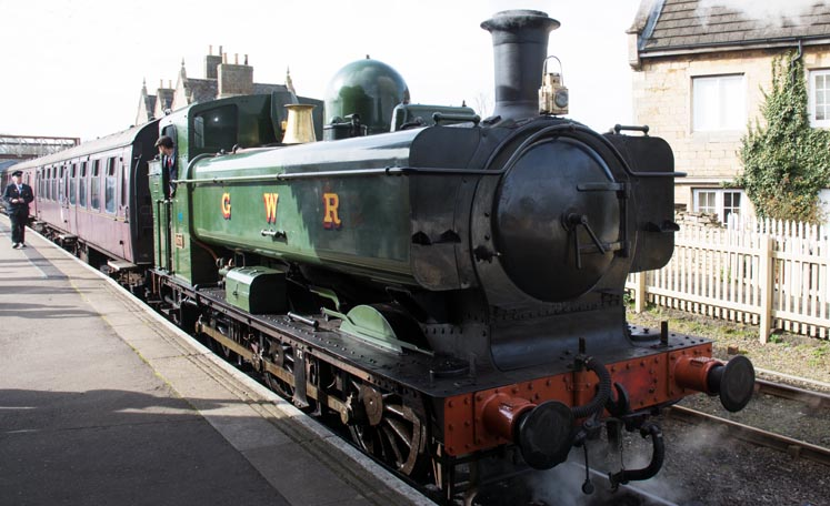 Great Western 0-6-0ST