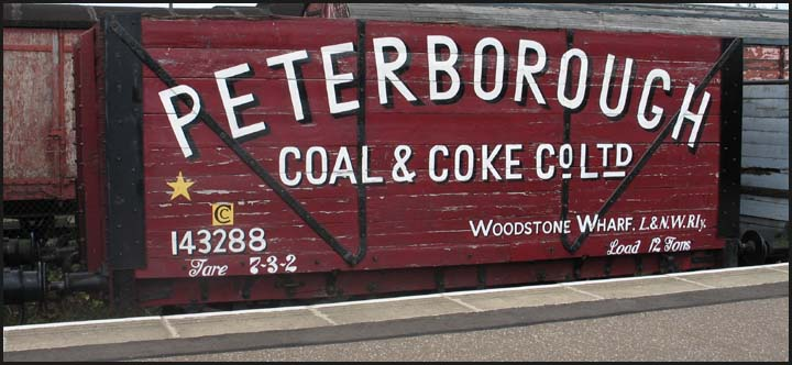 Peterborough Coal and Coke wagon