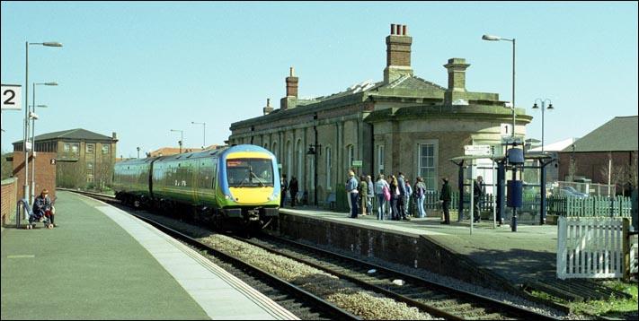 Newark Castle Railway Station