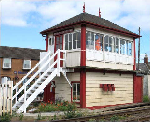 Oakham Level Crossing signal box
