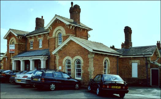 Oakham station in 2003