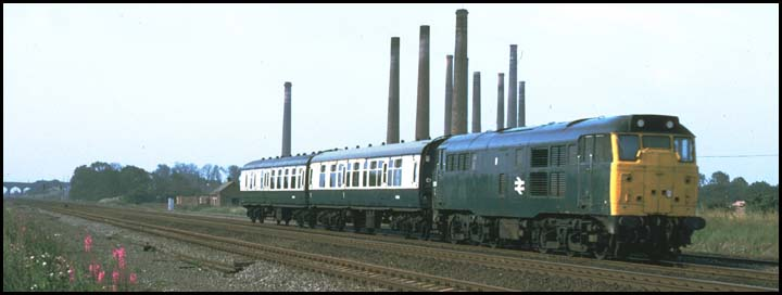 Class 31 and two mark ones at Farcet