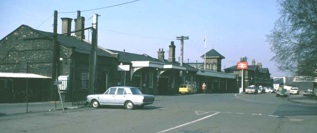 The old Great Northern station.
