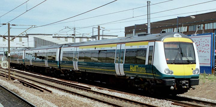 First Hull Trains First Class Hull Trains Class 170 395 on