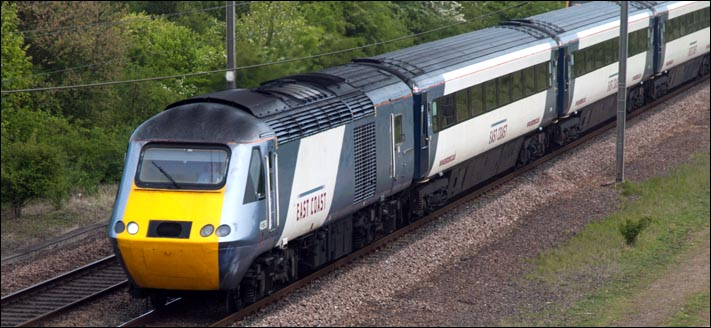 East Coast HST on the 15th May 2010