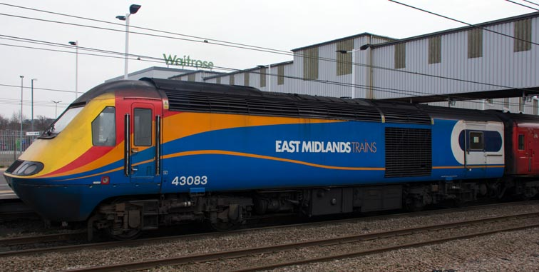 East Midland trains HST power car 43083