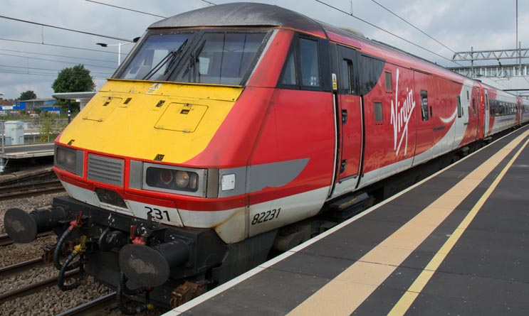 Virgin East Coast DVT 82231
