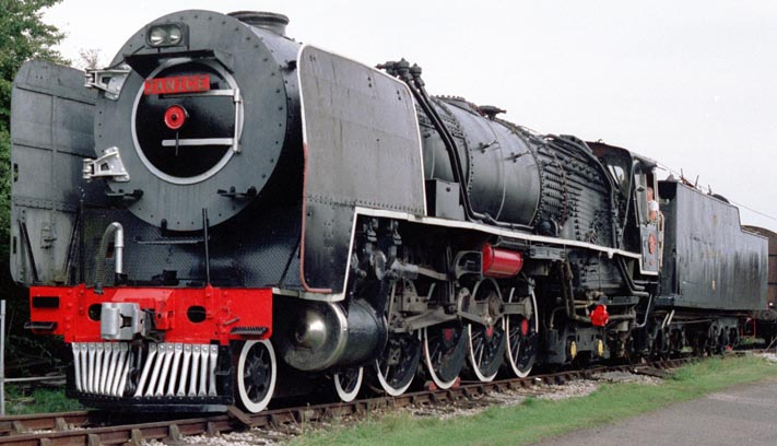 South African Railways 5NC Class 4-8-4 No. 3405